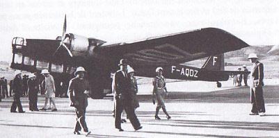 [HELLER] Octobre 1937, l'AMIOT 143 F-AQDZ part pour MADAGASCAR ... Réf 80390 Amiot_10