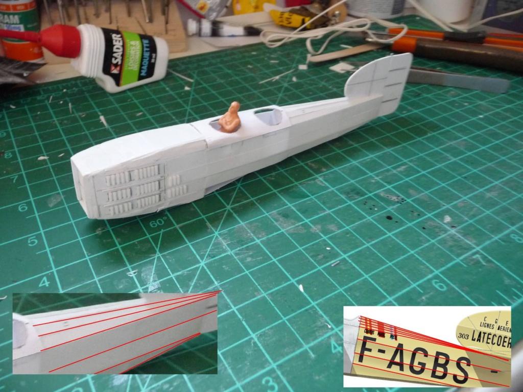 Breguet XIV aéropostale scratch au 1/43é P1130413