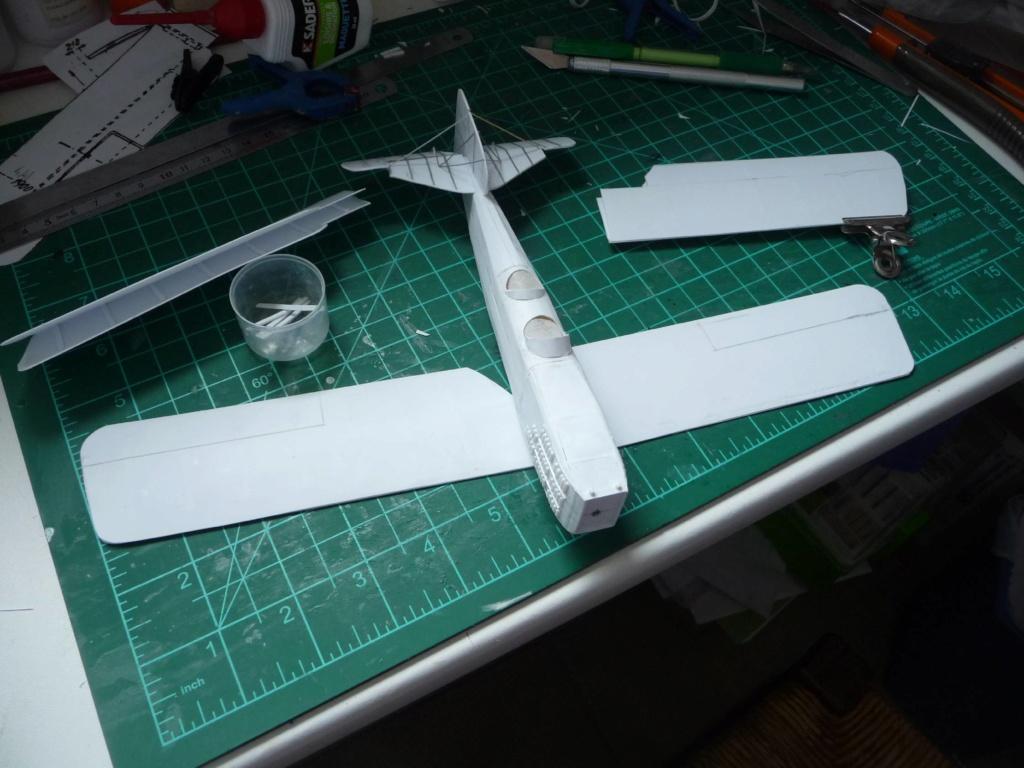 Breguet XIV aéropostale scratch au 1/43é - Page 2 P1130423