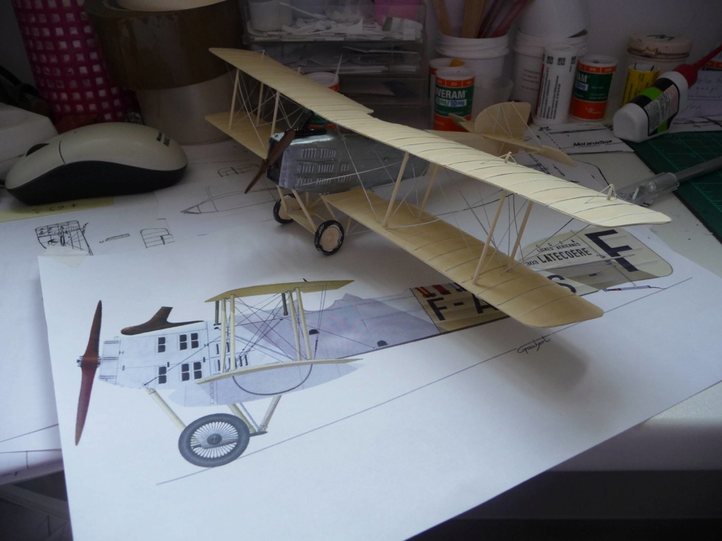 Breguet XIV aéropostale scratch au 1/43é - Page 2 P1130440