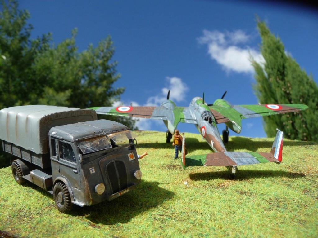 [HELLER] Octobre 1937, l'AMIOT 143 F-AQDZ part pour MADAGASCAR ... Réf 80390 P1230012