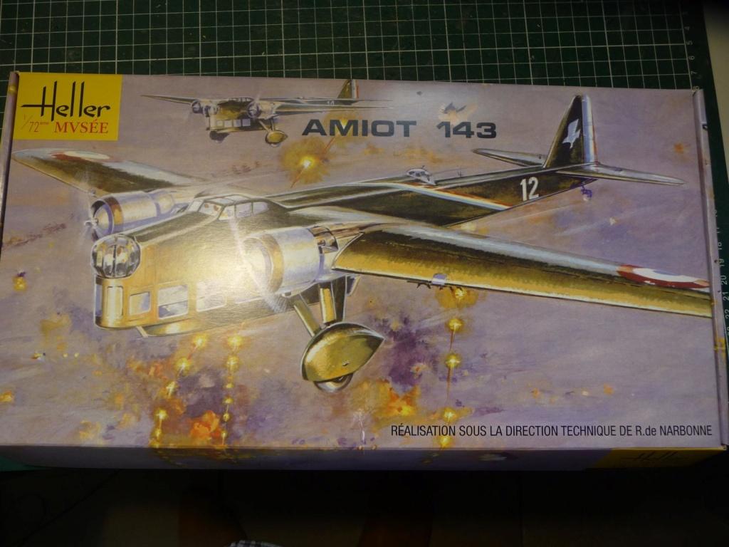 [HELLER] Octobre 1937, l'AMIOT 143 F-AQDZ part pour MADAGASCAR ... Réf 80390 P1250311