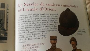 Vareuse et Képi Commandant Médecin Armée d'Orient ?  Moutar12