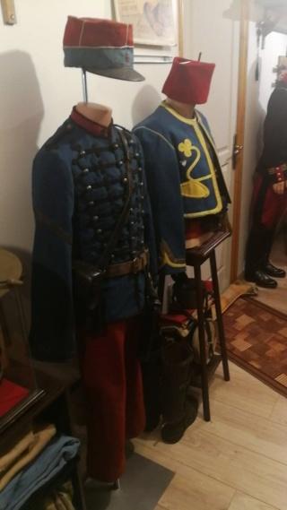 Buste de tirailleur algérien et de chasseur à cheval 1900-1914 Tir310