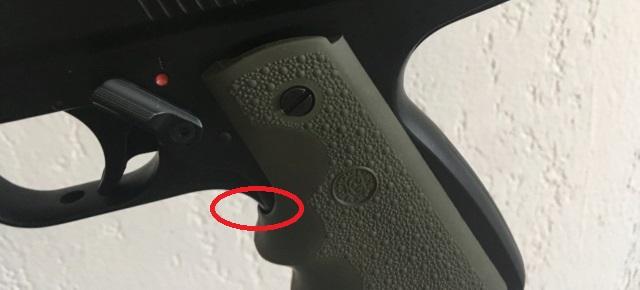 Poignée ergonomique pour HW45 / Colt 1911 Img_6910