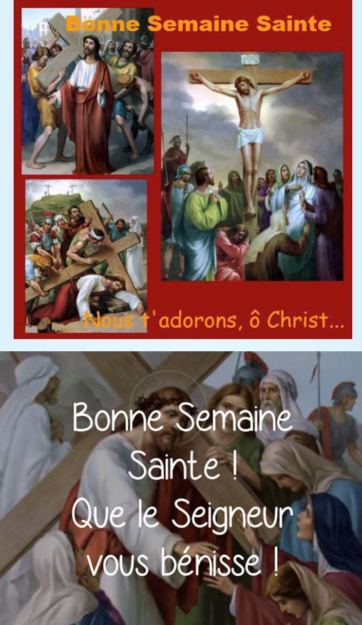 Bonne Semaine Sainte à tous mes frères et soeurs dans le Seigneur Img_3210