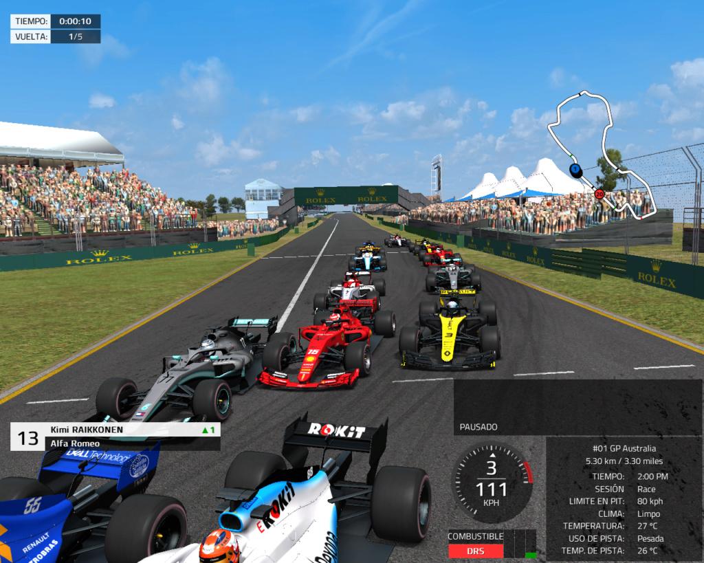 Mod 2019 de la serie Formula Ultimate 2018 110