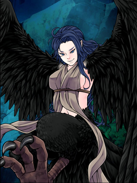 Building a Harpy Elf Tribe - Page 3 Ravenw24