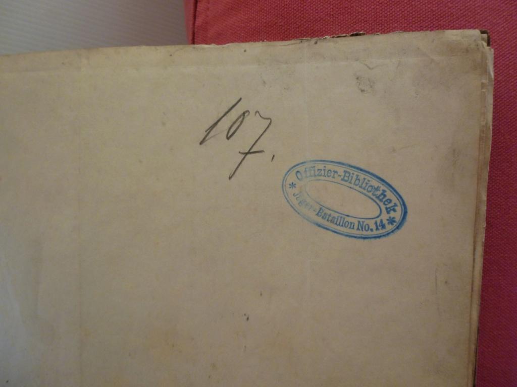 cartes officiers Jäger-bataillon N°14 batailles Ligny, Quatre-bras, Waterloo Resize39