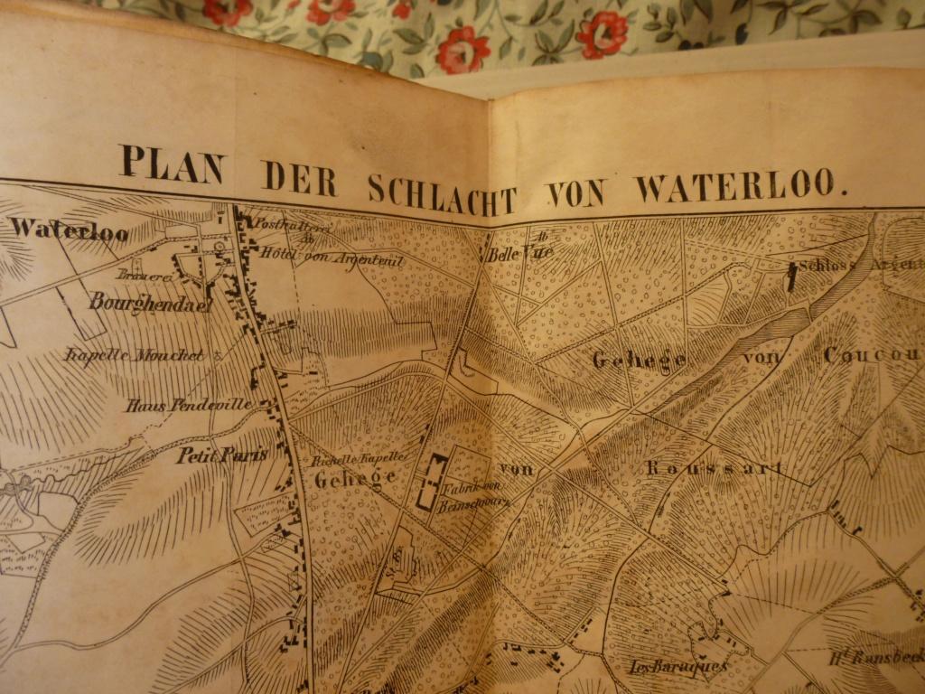 cartes officiers Jäger-bataillon N°14 batailles Ligny, Quatre-bras, Waterloo Resize41