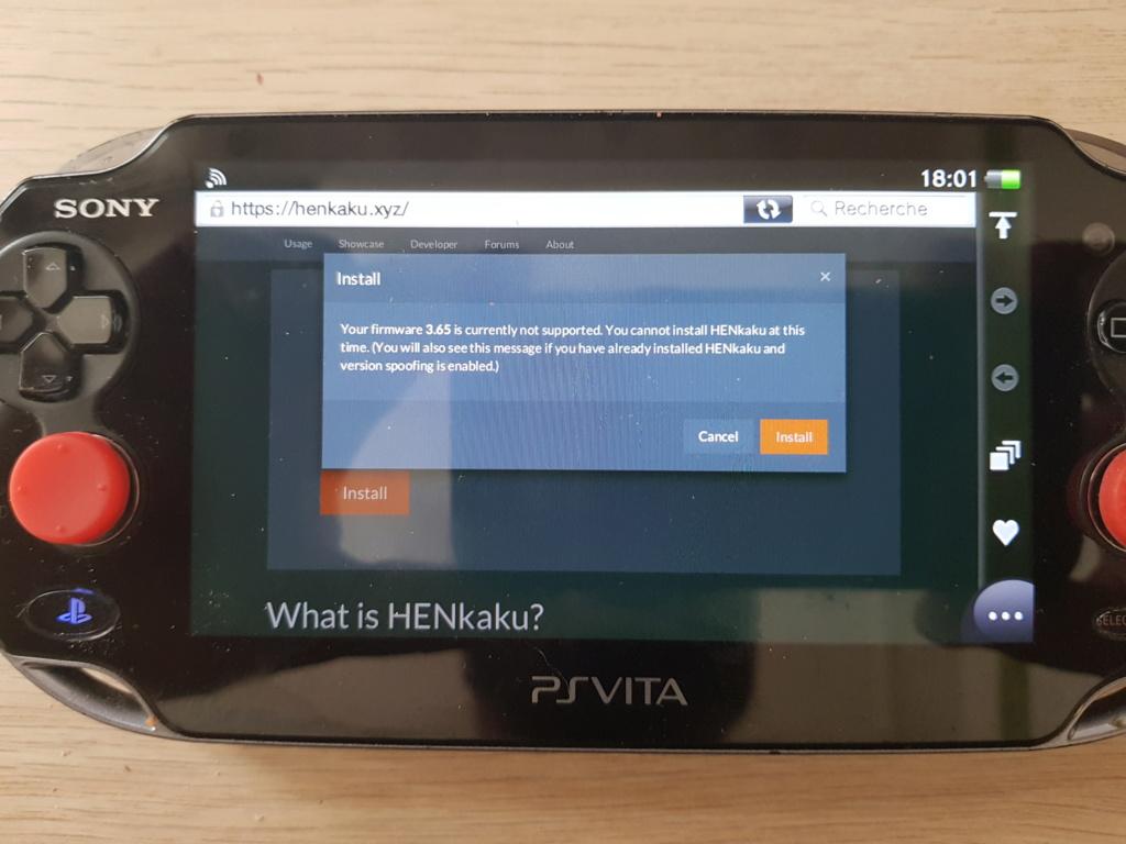 Probleme PS Vita 3.60 / 3.65 2019-021