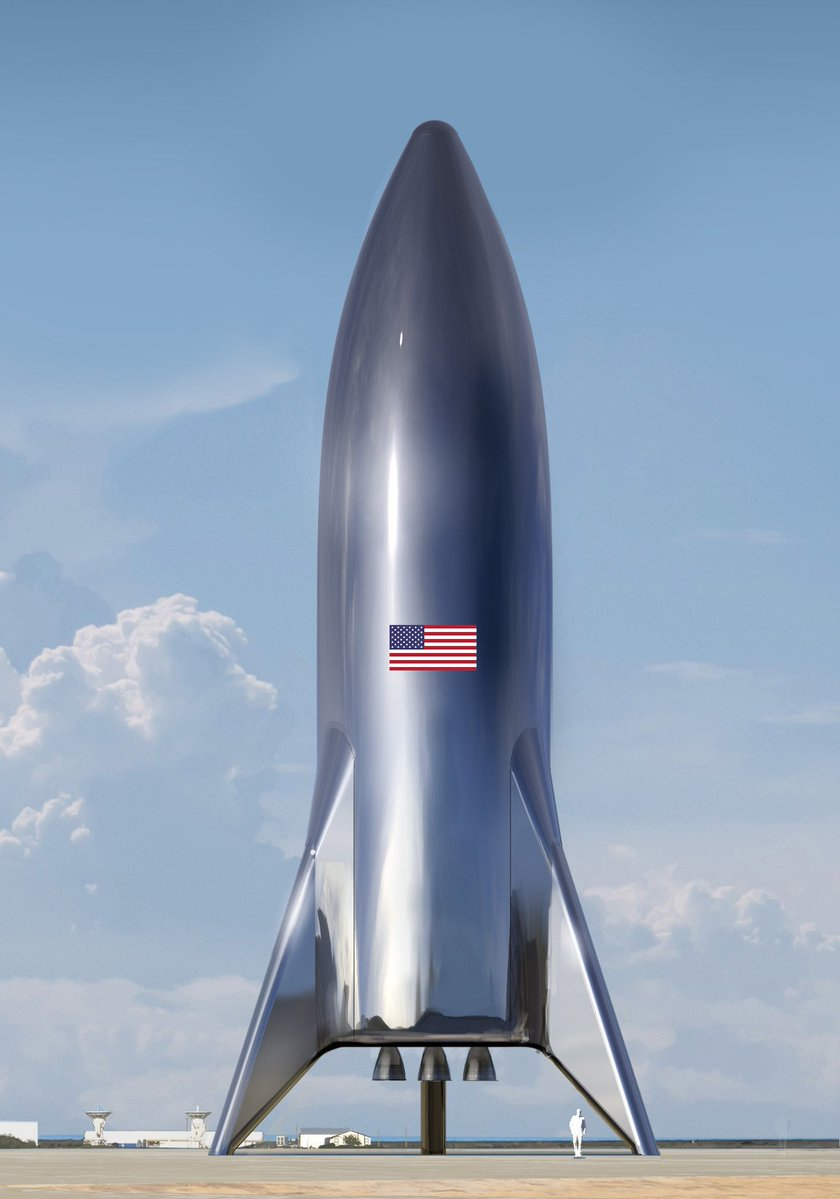 Le Starship de SpaceX prend forme 136610