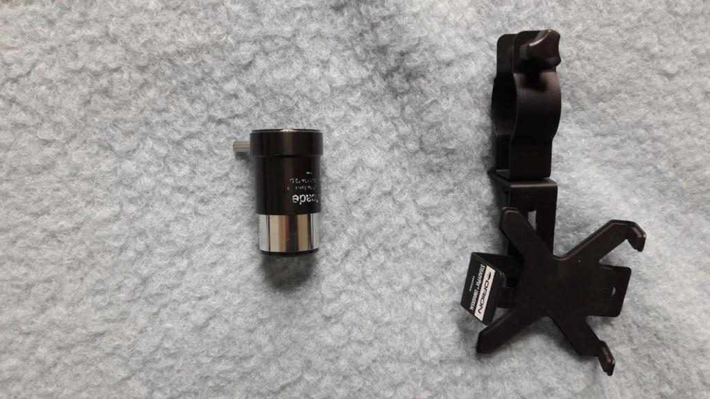 Oculaires, barlow et adaptateur à vendre 20190311