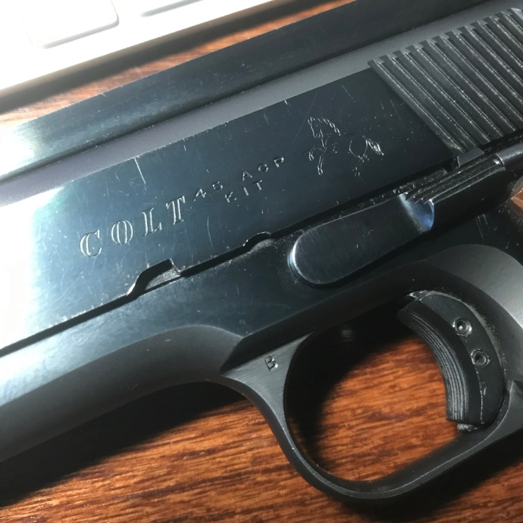 DO NOT BUY COLT 45 KIT GUN ON GUNBROKER Img_3910