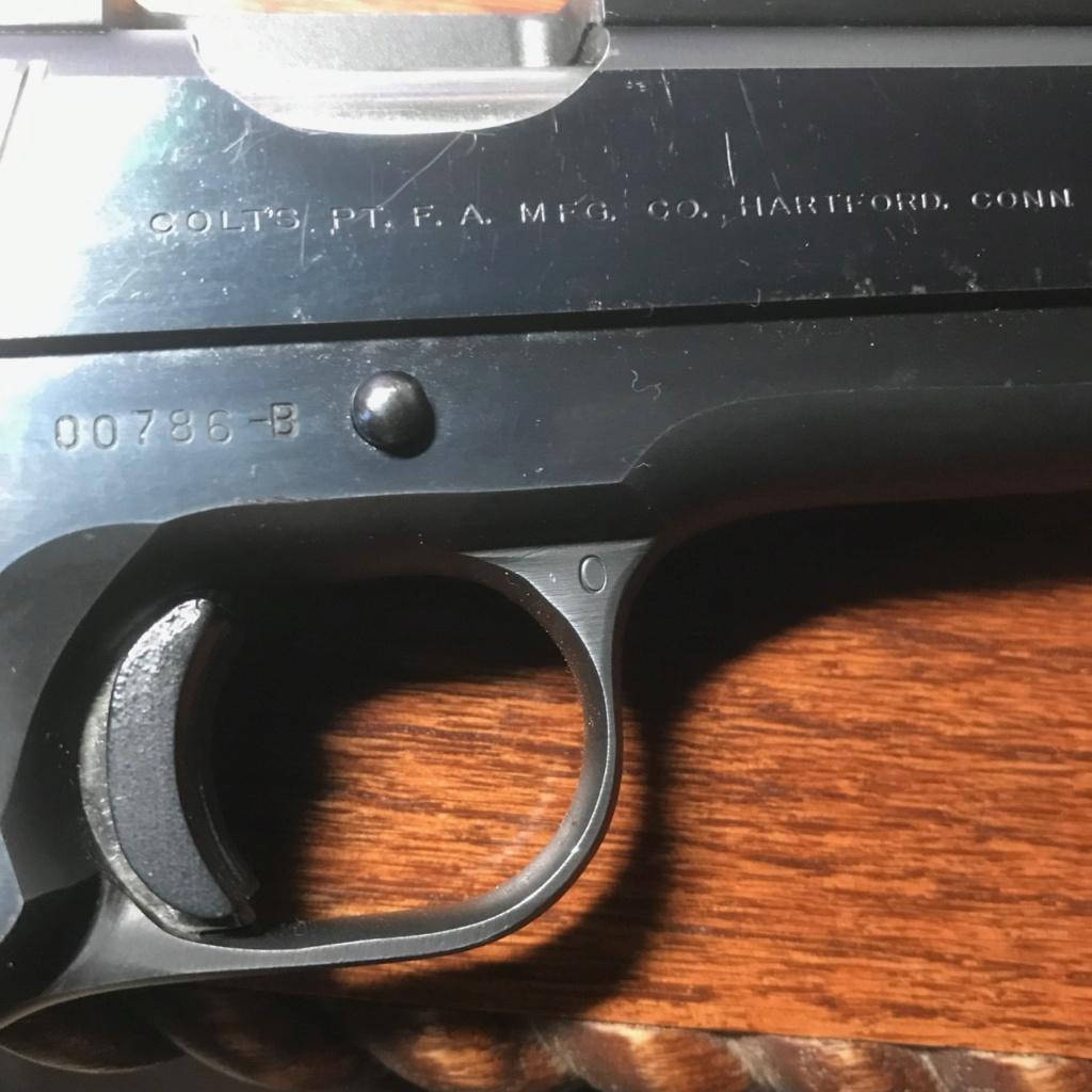 DO NOT BUY COLT 45 KIT GUN ON GUNBROKER Img_3911