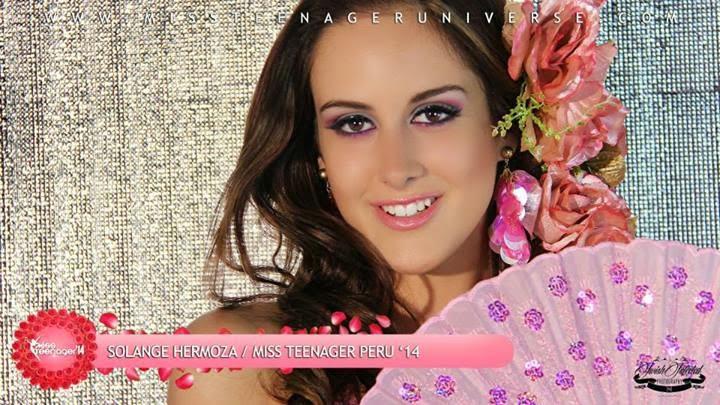 solange hermoza, finalista de miss teenager 2014, miss la liberta peru 2020. 10409310