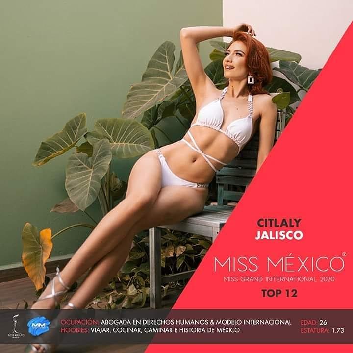 citlaly torres, top 12 de miss grand mexico 2020. 10600610