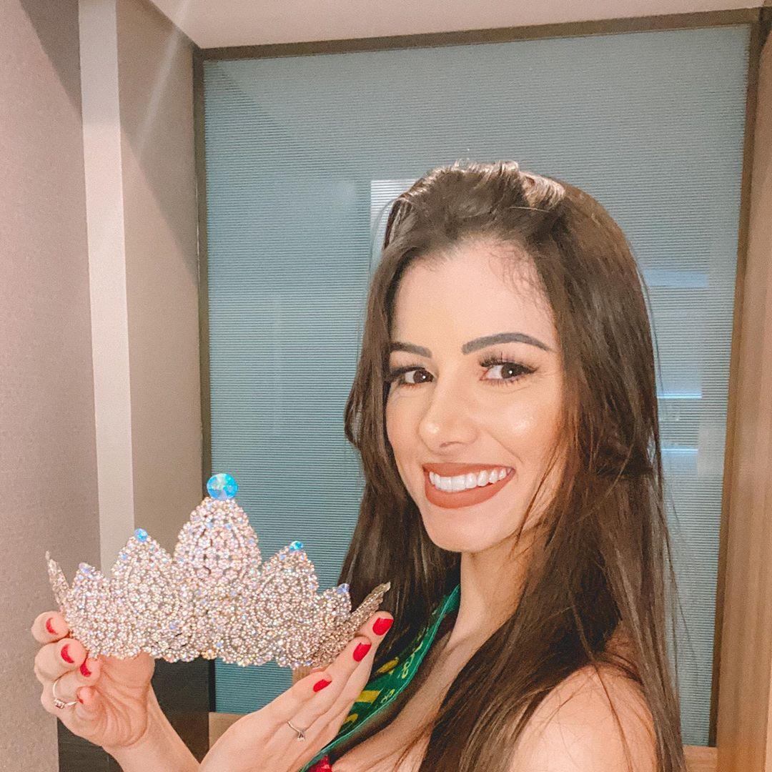 thawany faria, 3rd runner-up de the miss globe 2020. 12202010