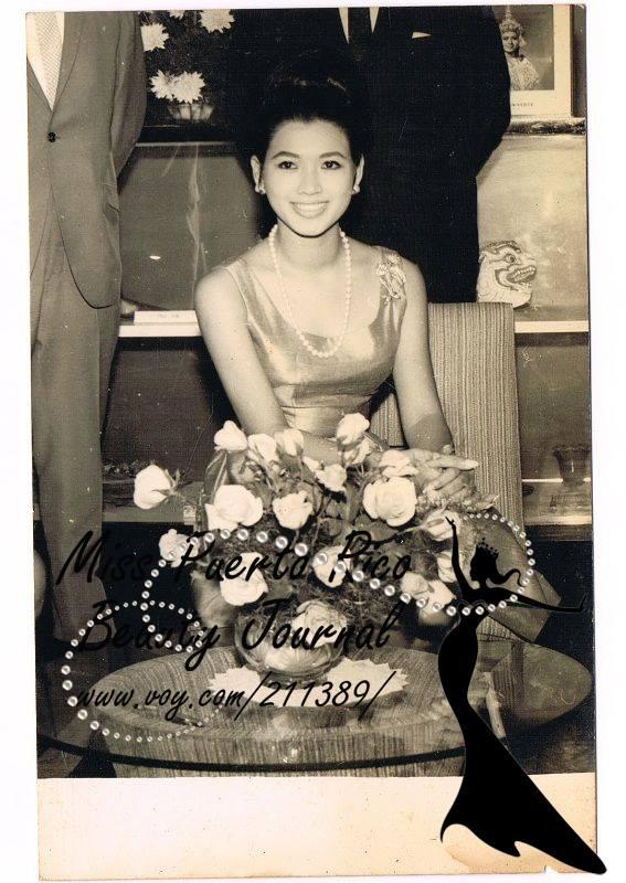 apasra hongsakula, miss universe 1965.  12512310