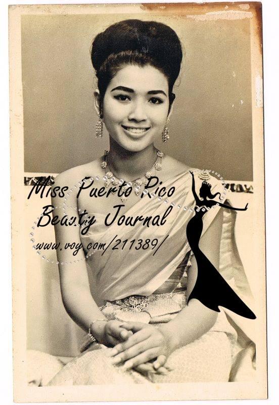 apasra hongsakula, miss universe 1965.  12794610