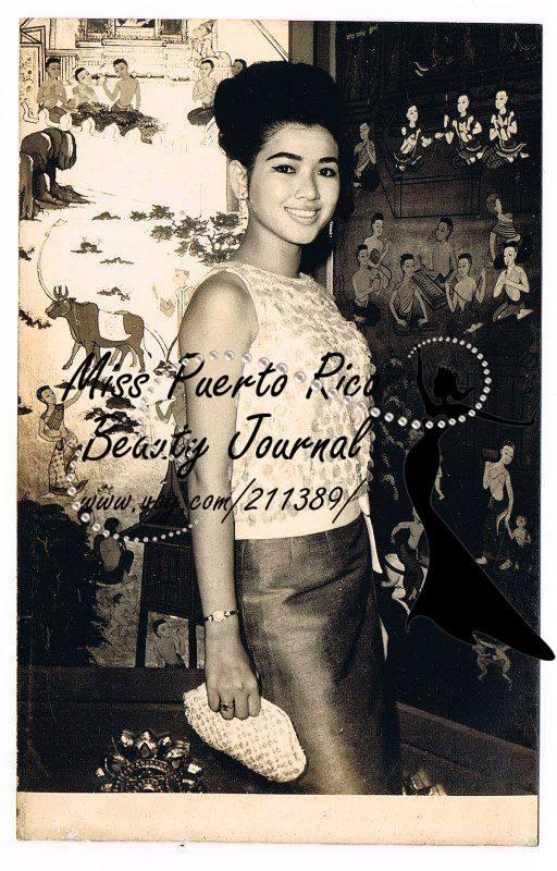 apasra hongsakula, miss universe 1965.  12923010
