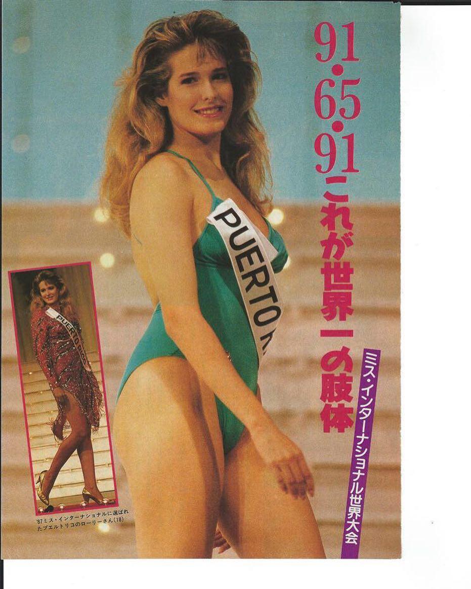 laurie simpson, miss international 1987. 13671710