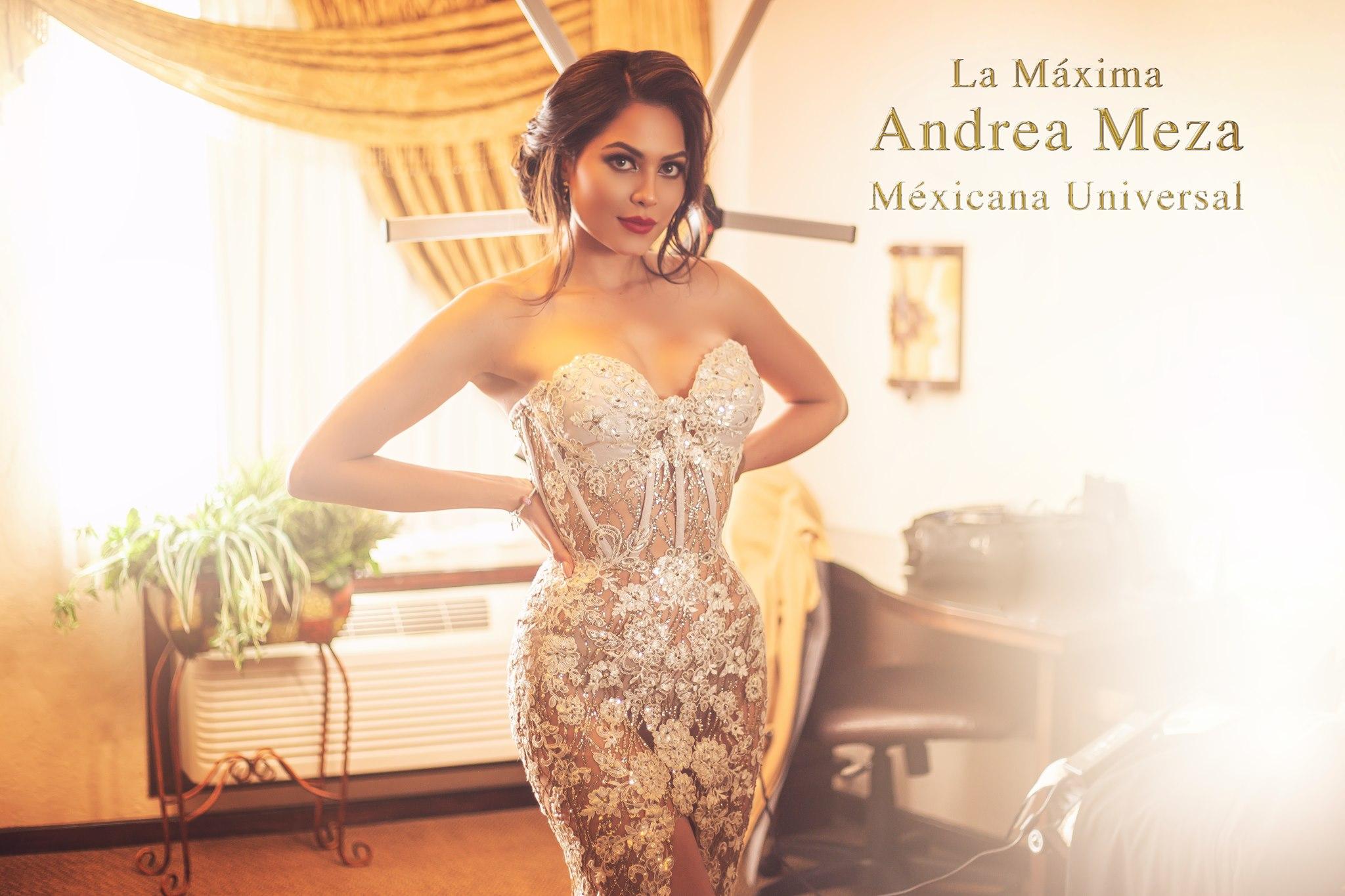 andrea meza, mexicana universal 2020. 13937910