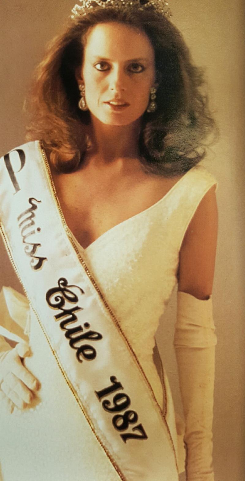 cecilia bolocco, miss universe 1987. 14954811