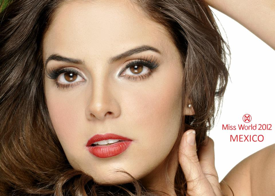 mariana berumen, top 36 de miss model of the world 2018/top 15 de miss world 2012 17999010
