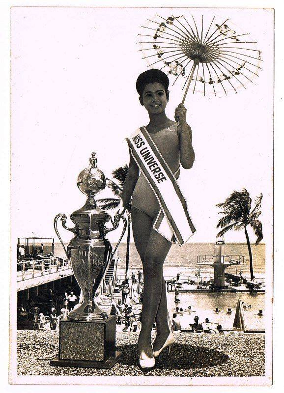 apasra hongsakula, miss universe 1965.  19160010