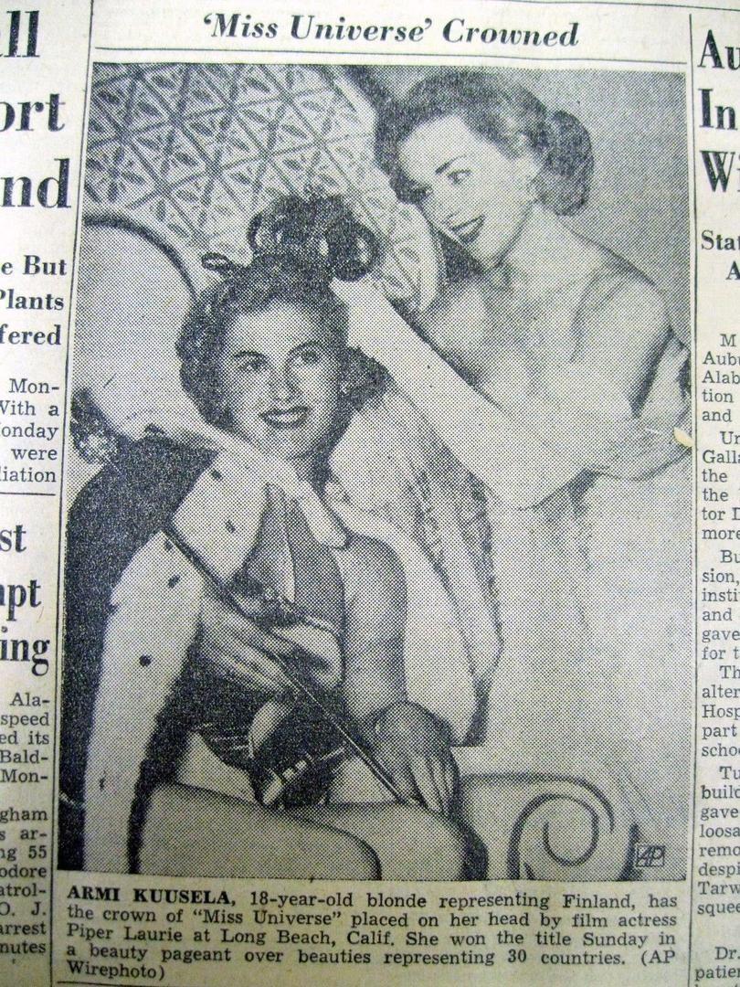 armi kuusela, miss universe 1952. primera mu. - Página 2 1_90bb10