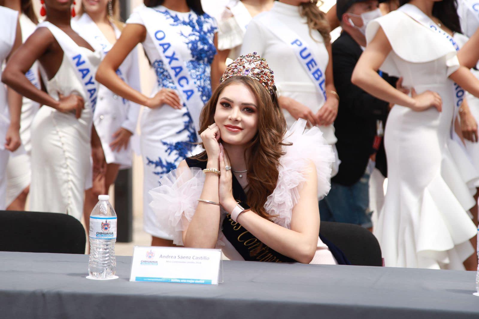 andrea saenz, miss continentes unidos 2018. - Página 6 20048110