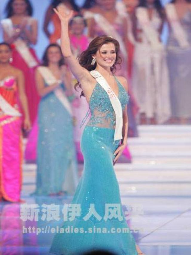 maria julia mantilla garcia (aka maju mantilla), miss world 2004. 20101210