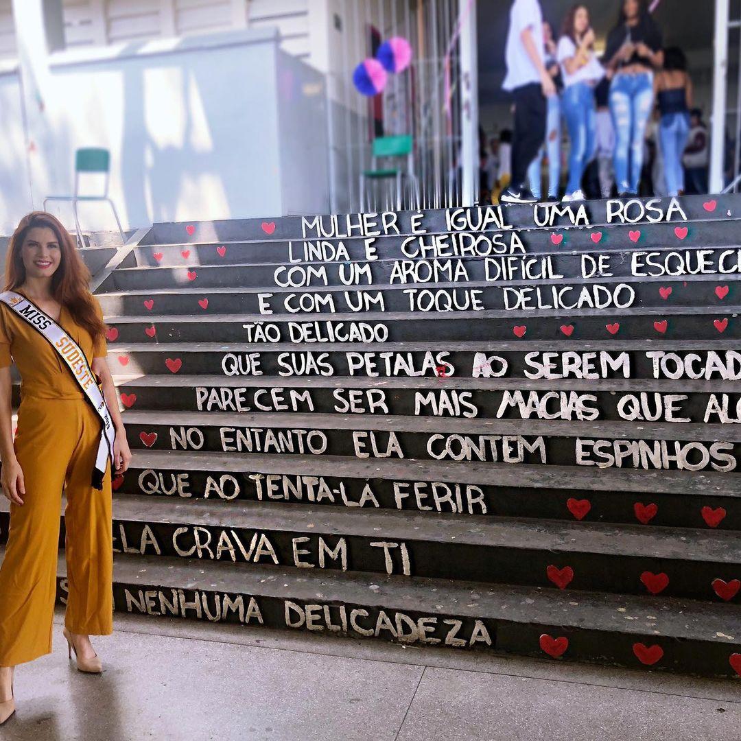 michelle valle, top 10 de miss brasil mundo 2019. - Página 3 21395417