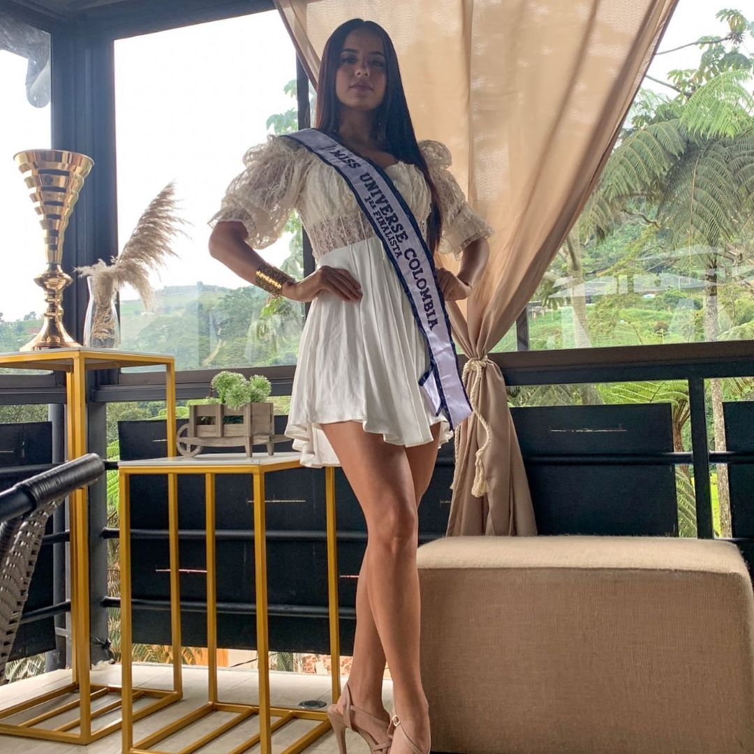 jennifer pulgarin, 1st runner-up de miss universe colombia 2020. 21966910