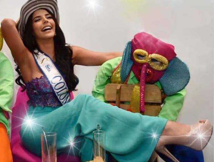 laura gonzalez, 1st runner-up de miss universe 2017. - Página 30 22170911