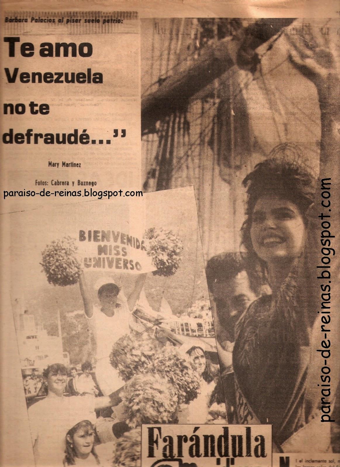 barbara palacios, miss universe 1986. 232bmi10