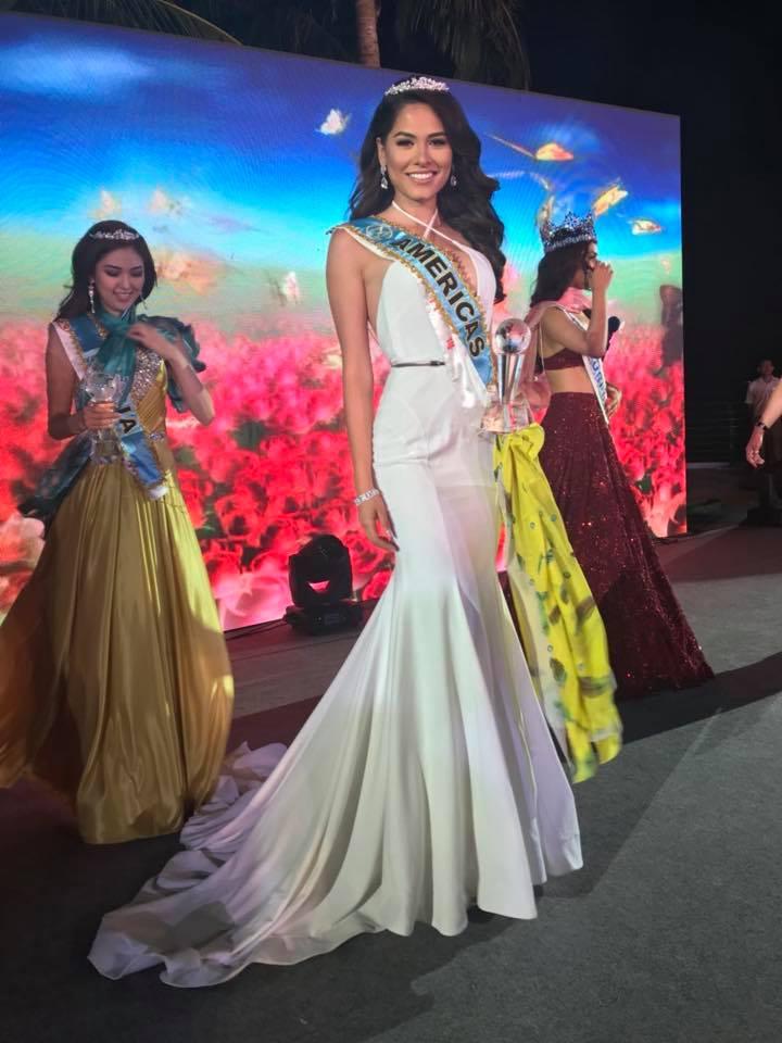 andrea meza, mexicana universal 2020/1st runner-up de miss world 2017. - Página 39 23658610