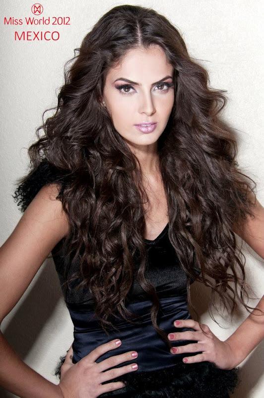 mariana berumen, top 36 de miss model of the world 2018/top 15 de miss world 2012 38256310