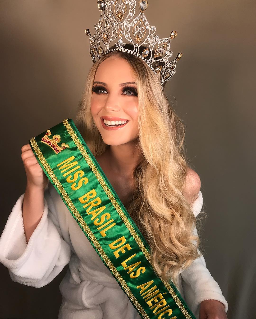 amanda pegoraro , miss brasil de las americas 2019. 44498810