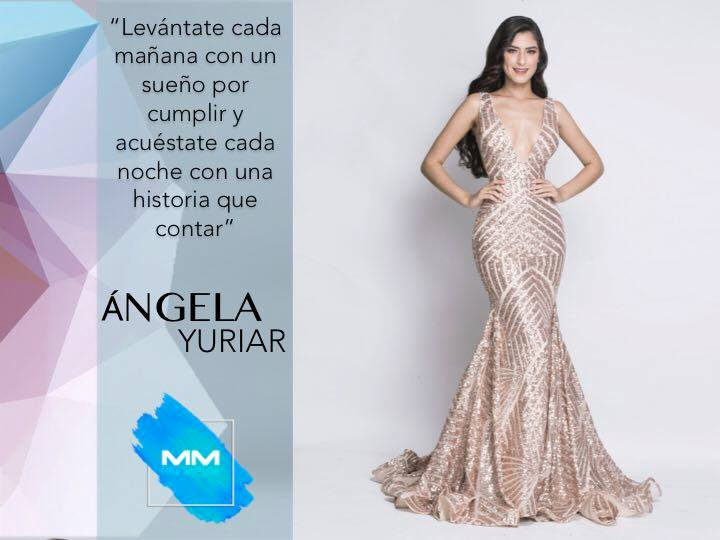 angela leon yuriar, top 21 de miss grand international 2020. - Página 2 44977510