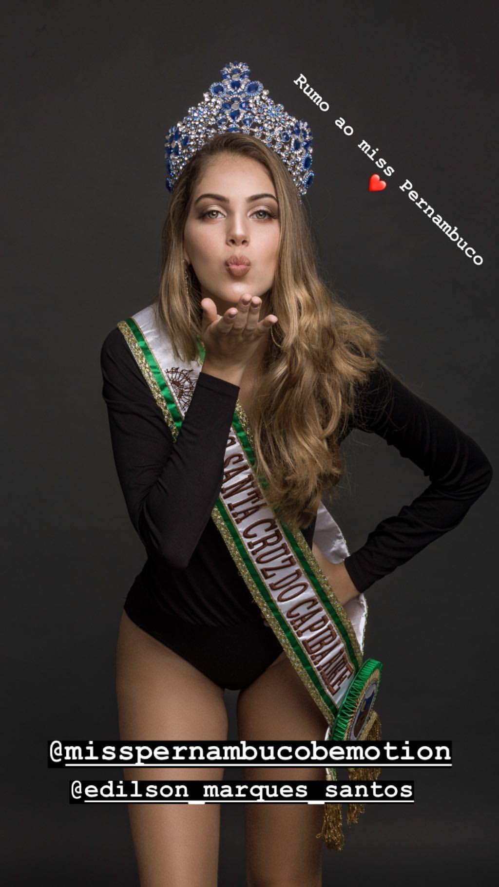eduarda ribeiro, miss santacruz do capibaribe 2019. - Página 2 46340510