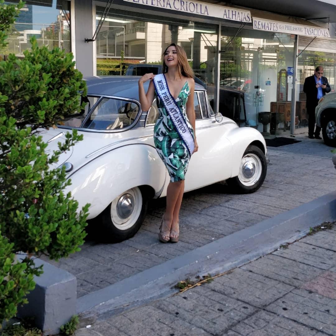 estefania olcese, miss atlantico international 2018. 46507110
