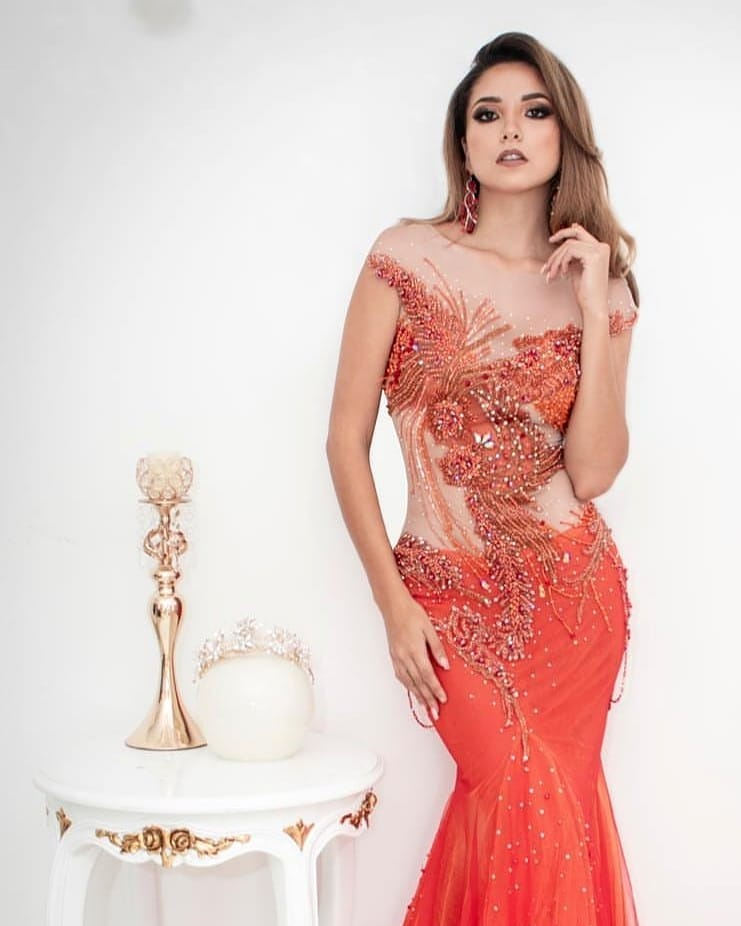estefania olcese, miss atlantico international 2018. 46558910