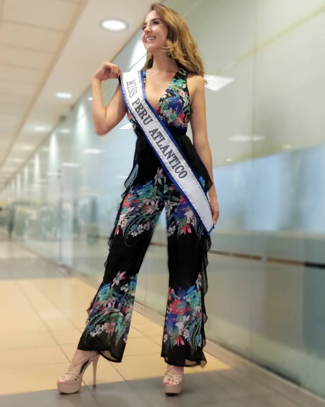 estefania olcese, miss atlantico international 2018. 46795310