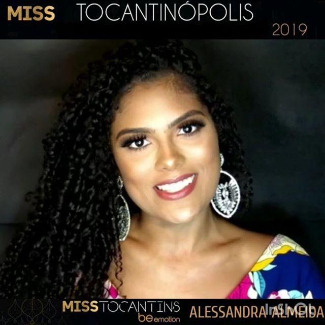 alessandra almeida, miss tocantins 2019. 47690814