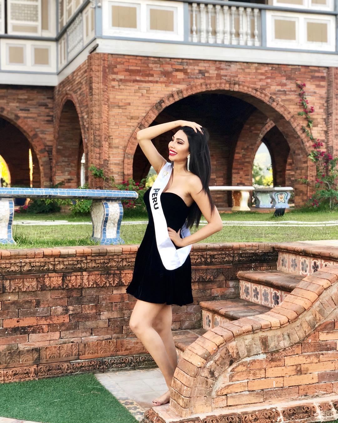 giuliana valenzuela, miss intercontinental peru 2018-2019. - Página 3 47693610