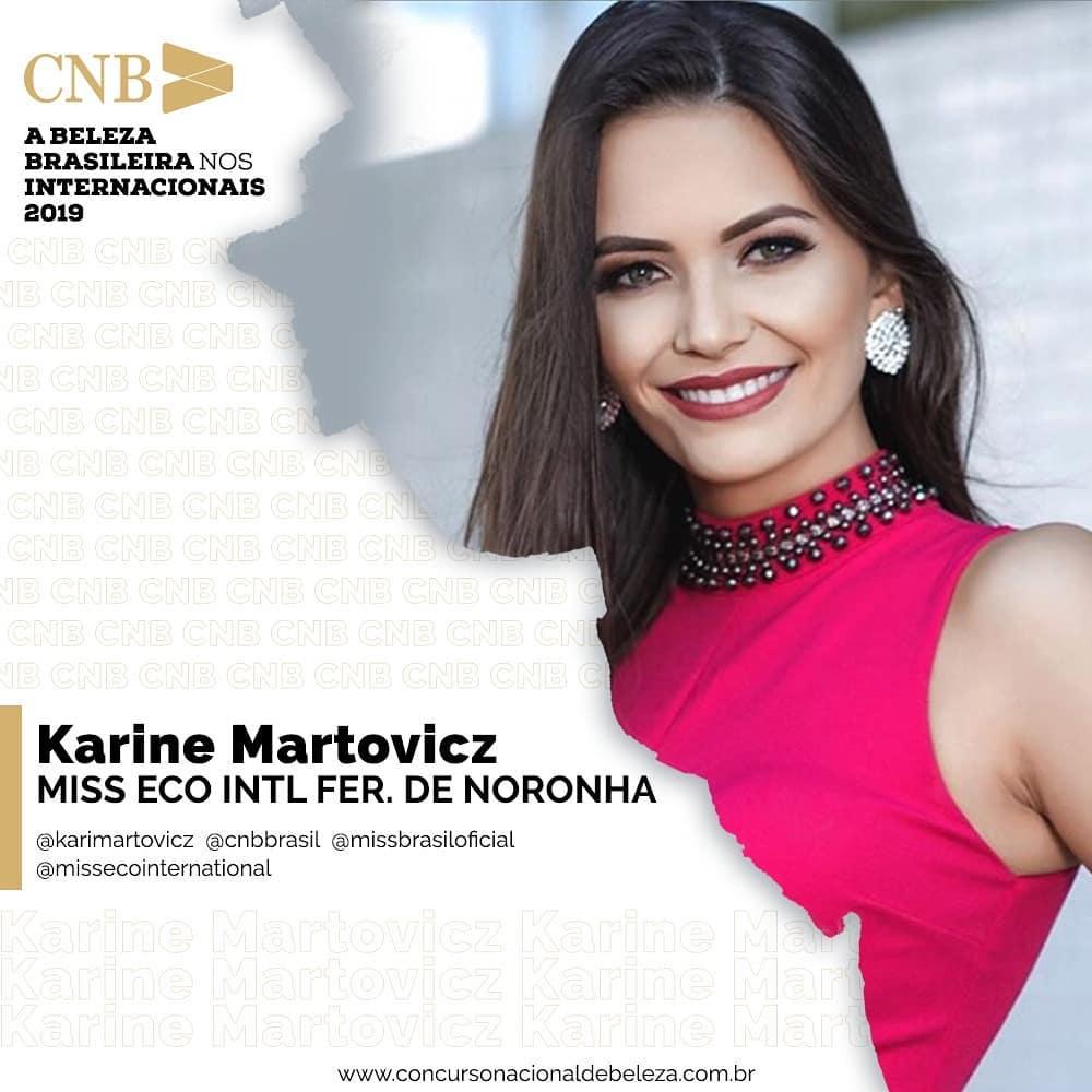 karine martovicz, miss eco fernando de noronha 2019. - Página 3 47694012