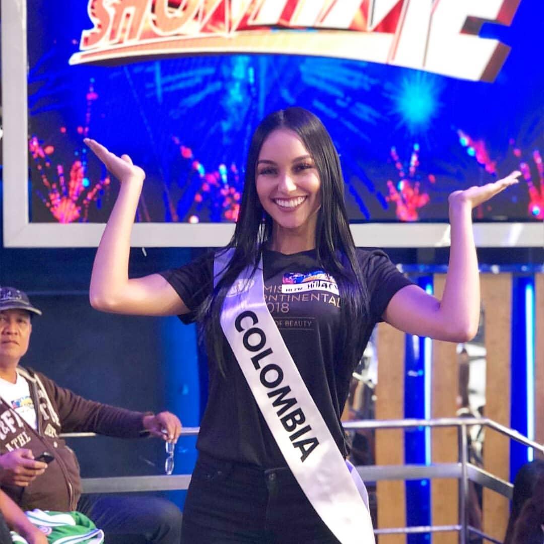 hillary hollman, 3rd runner-up de miss intercontinental 2018-2019. - Página 2 49321410