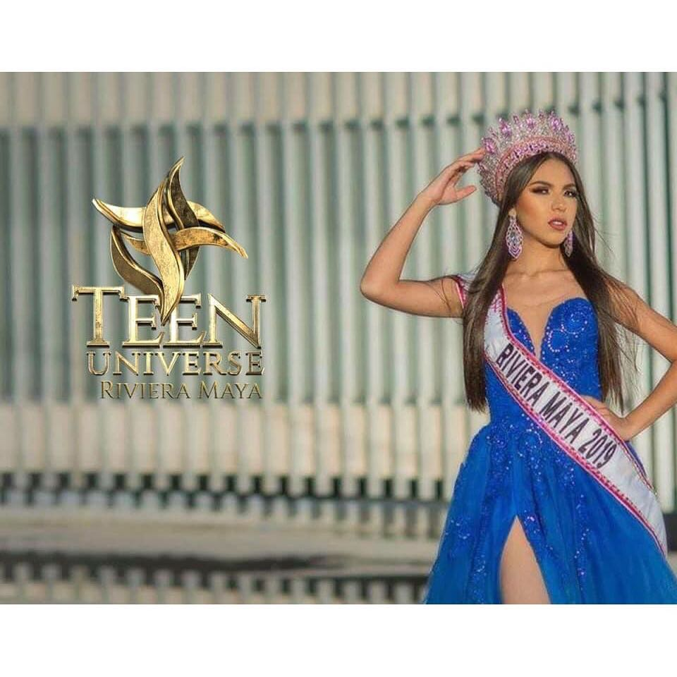 frida barron, miss teen universe riviera maya 2019. 49621813